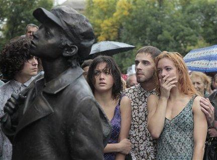 APTOPIX Ukraine Babi Yar
